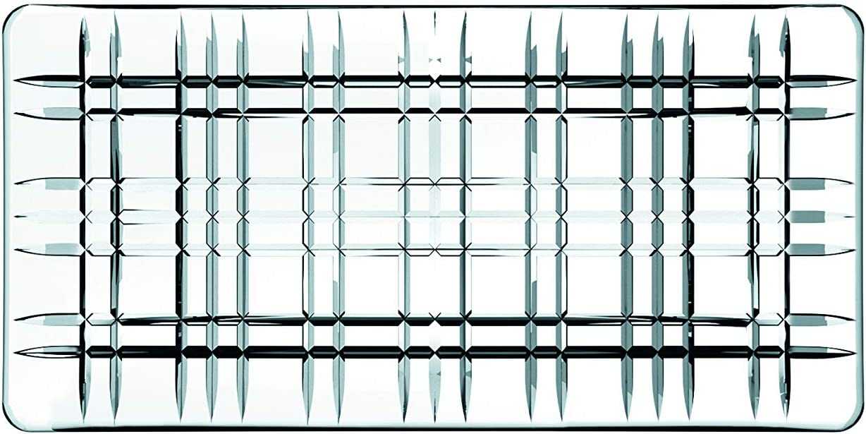 11 Nachtmann The Life Style Divison of Riedel Glass Works 101047 Square Rectangular Plate