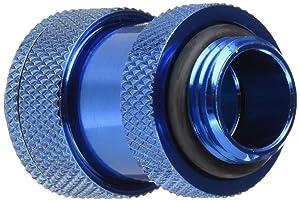 """Bitspower G1/4"""" Adjustable Aqua Link Pipe (22-31mm), Royal Blue"""