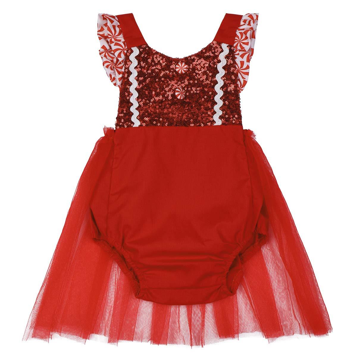 Amazon.com: Juego de 2 piezas de vestidos de Navidad para ...