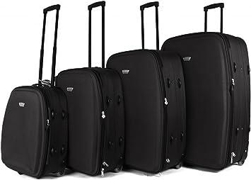 Negro TC-04 Top Lite – Juego de 4 maletas ligero Ultra Light 2 ...