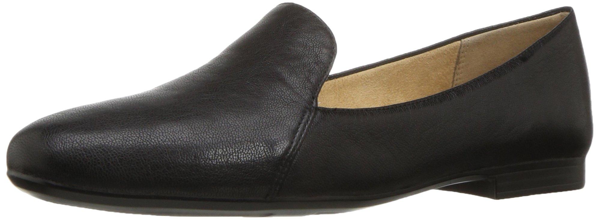 Naturalizer Women's Emiline Slip-on Loafer, Black, 7.5 M US