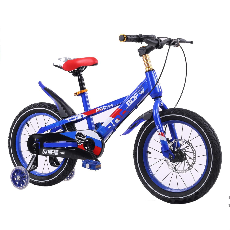 Mysida Kids' Bikes Bici per Bambini per Ragazzi e Ragazze (colore   D, Dimensioni   16 Inches)