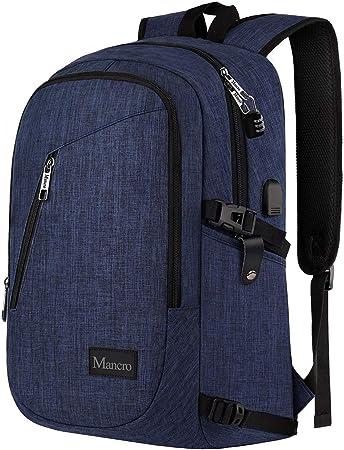 Mancro para colegio, mochila para ordenador portátil para negocios ...