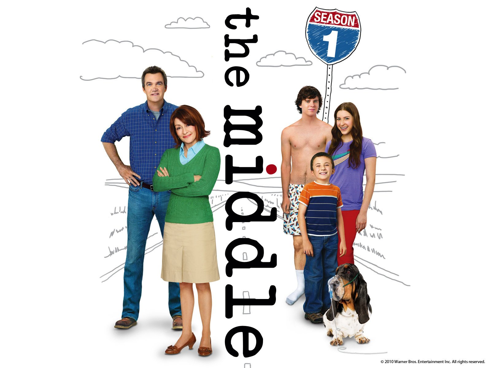 Amazon.com: The Middle: The Complete First Season: Patricia Heaton ...