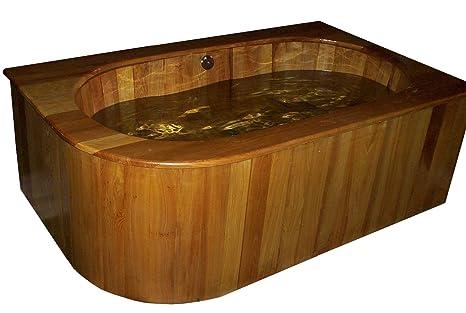 Vasca Da Bagno Ofuro : Drop in ofuro vasca di legno in cypress amazon fai da te
