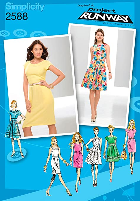Simplicity P5 12 14 16 18 20 Sewing Pattern Inspired By Project