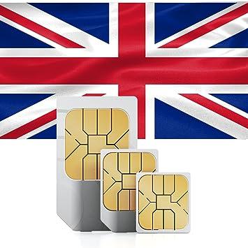 travsim Reino Unido/Inglaterra Prepaid - Tarjeta de Datos ...