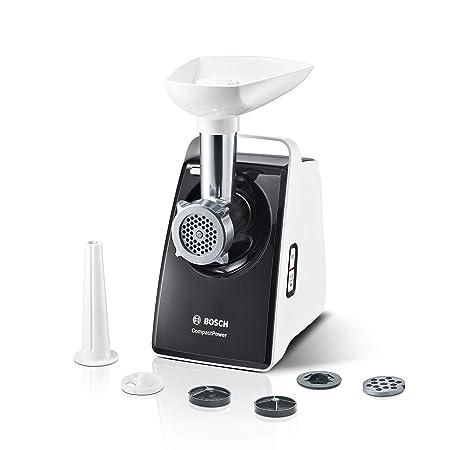 Bosch mfw3612 a - Picadora de carne, color blanco/gris: Amazon.es ...