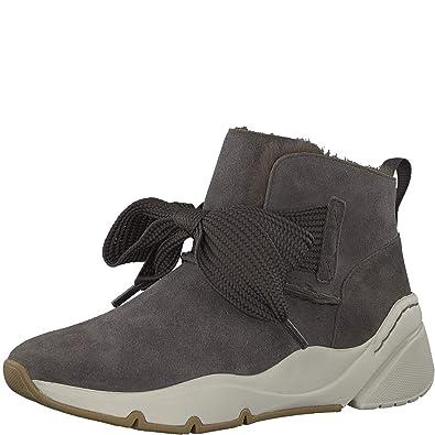 Tamaris Fashletics 26200 21 Damen Sneaker aus Veloursleder