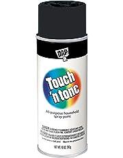 Rust-Oleum 55275830 Touch 'n Tone 10-Ounce Spray Paint, Flat Black