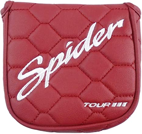 Spider Tour 2017 Putter - Funda para cabeza, color rojo: Amazon.es ...