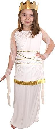 Children - Disfraz de romana para niña, talla 3-5 años (G10040S ...