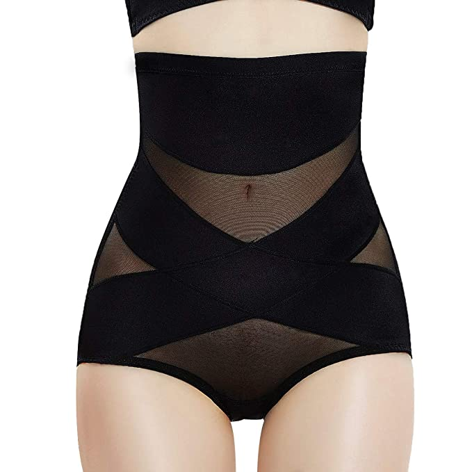 73996b31c3d48 PAUKEE Body Shaper Tummy Control Shapewear Underwear Briefs High Waist  Panty Girdle Shaping Panties for Women  Amazon.co.uk  Clothing