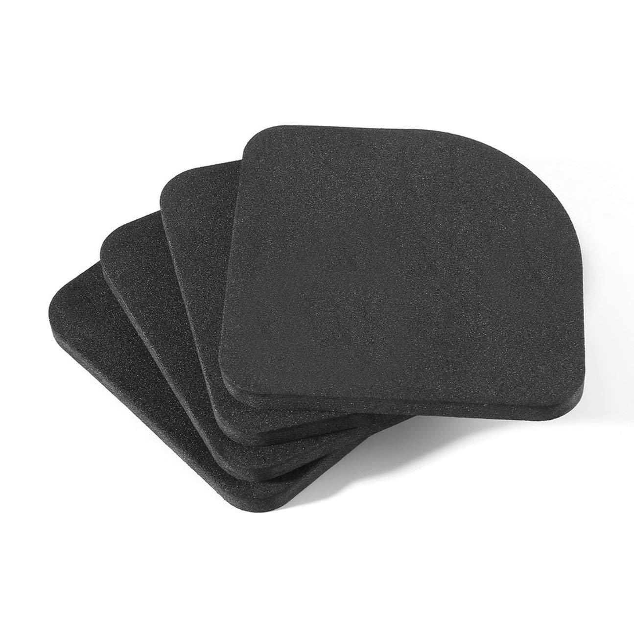 MachinYesell 4 pcs Tapis antid/érapants pour laveuse R/éduisant Le r/éfrig/érateur Anti-Bruit Pad Anti-Vibrations Machine /à Laver Tapis Antichoc comme Le Montre la Photo