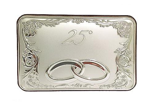 Placa aniversario plata bilamina// 25° y 50°/con resguardos ...