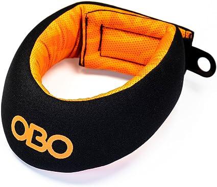 Amazon Com Obo Cloud Field Hockey Throat Protector Black Orange Sports Outdoors