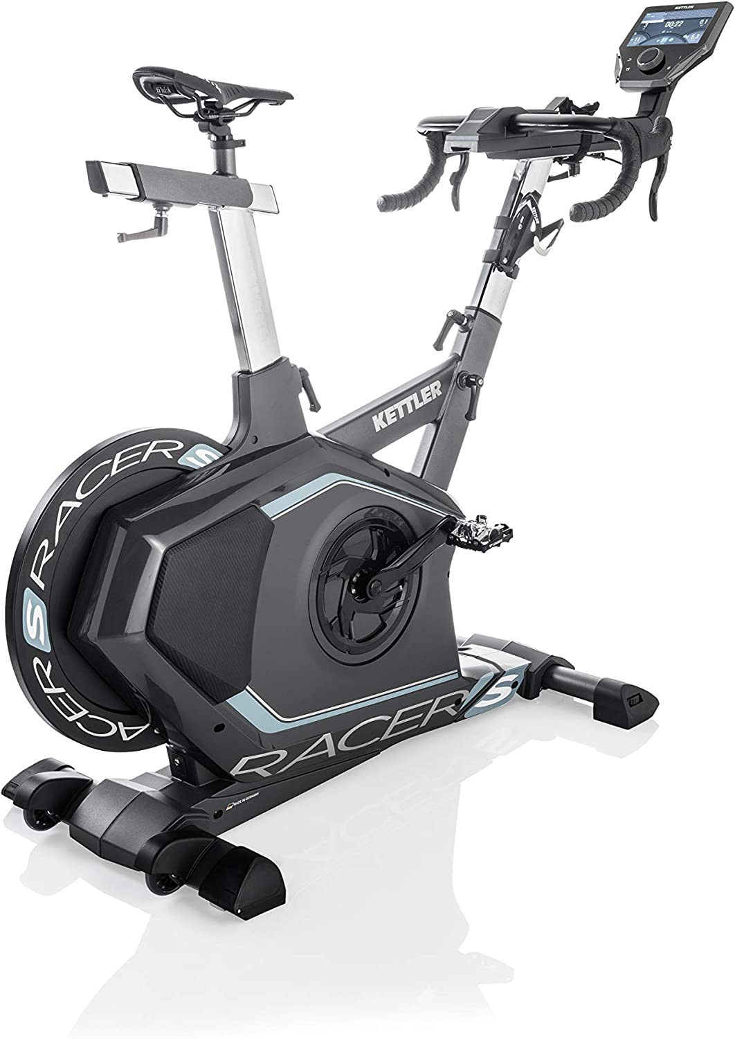 Kettler Ergometer Racer S Incluye World Tours, Indoor, antracita ...