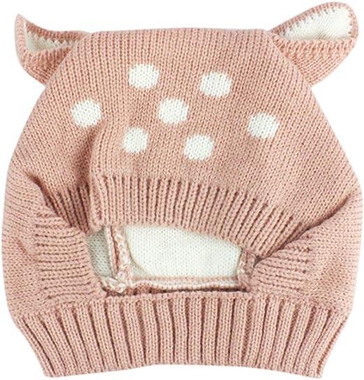 Sombrero de bebé de otoño e Invierno Sombreros para niños Sombrero de niños pequeños Bebé Lindo Invierno niños Zapatos de bebé Ropa Bebe by Xinantime (Rosa): Amazon.es: Hogar