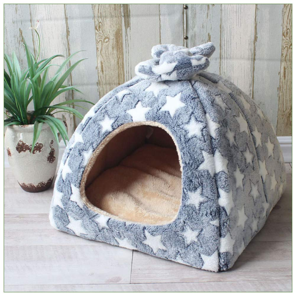 C3 33x33x28cm CZHCFF Folding dog cat house dog puppy store kennel nest puppy pet bed