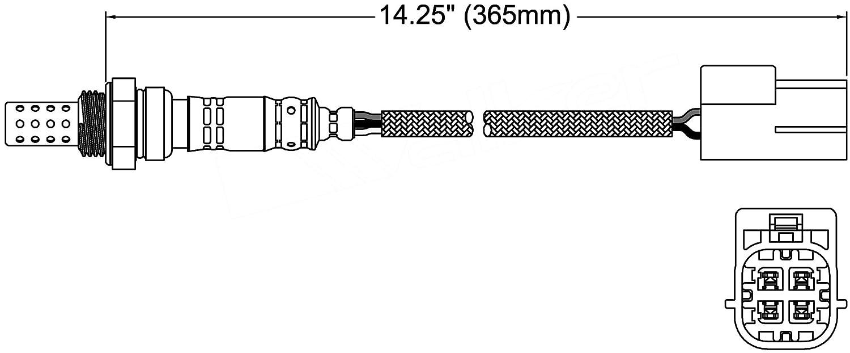 ACDelco 213-2882 Professional Heated Oxygen Sensor 213-2882-ACD