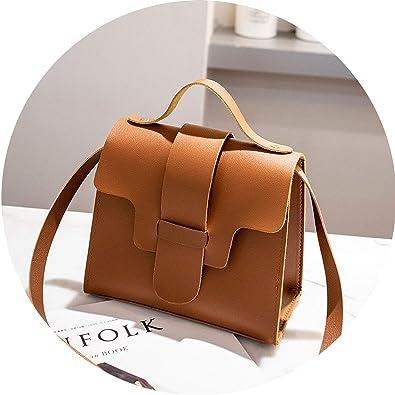 f94e6a841cb Amazon.com  Casual Small Leather Crossbody Bags for Women 2019 Design Women  PU Leather Handbags Tote Shoulder Bags Messenger
