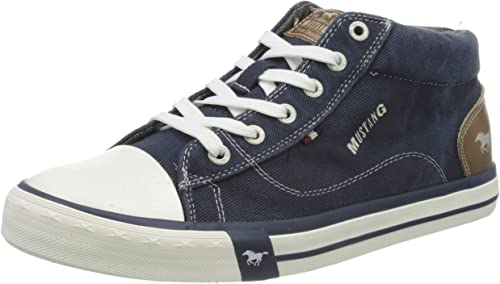 Mustang 4072-505-841 Baskets Hautes Homme