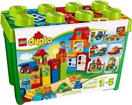 LEGO DUPLO My First Deluxe Box of Fun 10580 Building Toy by LEGO: Amazon.es: Juguetes y juegos