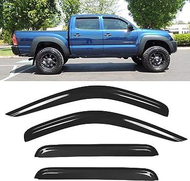 vent window shades visor for Toyota Tacoma Access Cab 05-15