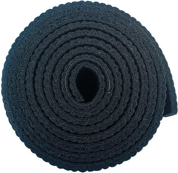 Viavito Leviato - Esterilla de yoga unisex con correa de transporte, color negro, talla única: Amazon.es: Deportes y aire libre