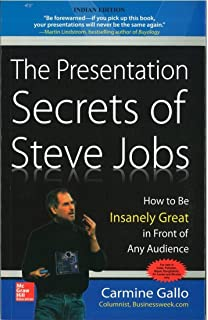 The Presentation Secrets of Steve Jobs : How to Be Insanely Great in Front of Any Audience 1st Edition price comparison at Flipkart, Amazon, Crossword, Uread, Bookadda, Landmark, Homeshop18