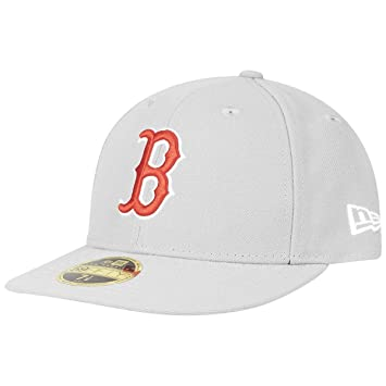 New Era 59Fifty LOW PROFILE Cap - Boston Red Sox grey  Amazon.co.uk ... 4fcf547ee08