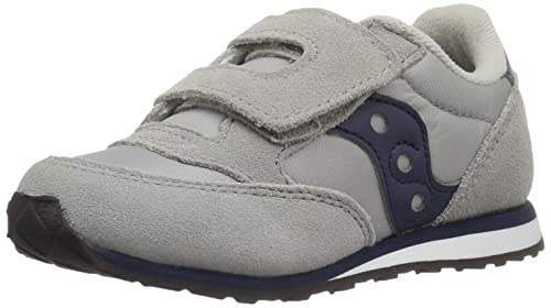 4547630f7b487 SAUCONY ST57947 JAZZ HL grigio blu scarpe bambino boy strappo  Amazon.it   Scarpe e borse