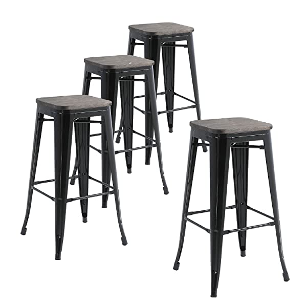 Buschman Metal Bar Stools 30