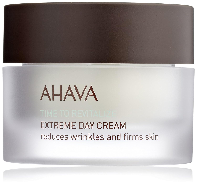 AHAVA Time to Revitalize Extreme Day Cream, 1.7 fl. oz. Biosource 24H Hydrating & Softening Toner - For Dry Skin 13.52oz