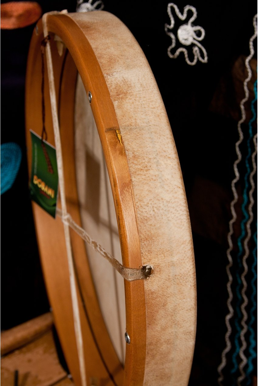 Frame Drum, 14'', Interior Tuning by Mid-East