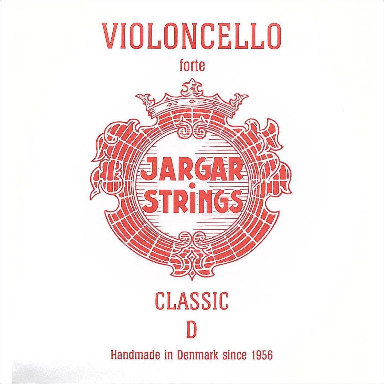 Jargar 4/4 Cello D String Thick(Forte) Chromesteel