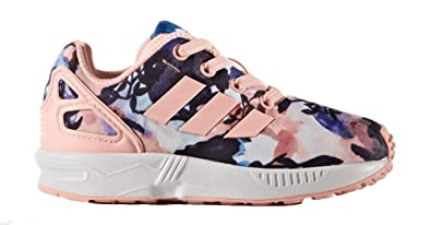 9ad42e57508 adidas Boys Originals Infant Girls ZX Flux EL Trainers in Pink - 6.5 Infant