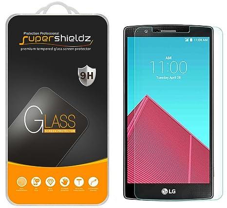 Supershieldz for LG G4 Tempered Glass Screen Protector, Anti Scratch, Anti  Fingerprint, Bubble Free