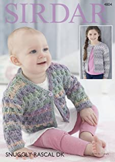 69dc2d828 Double Knitting Pattern for Baby Round Neck or Flat Collar Lace ...