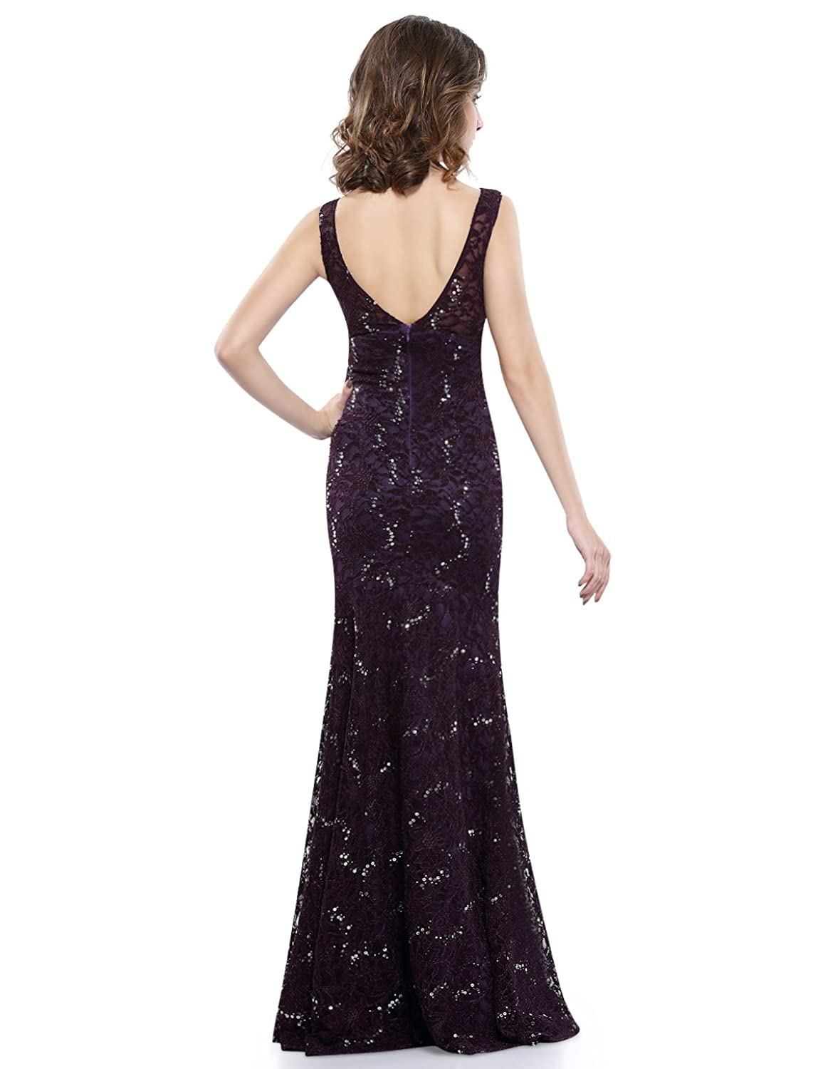 Ever Pretty Sexy Fashtail Evening Party Dress for Women 08855