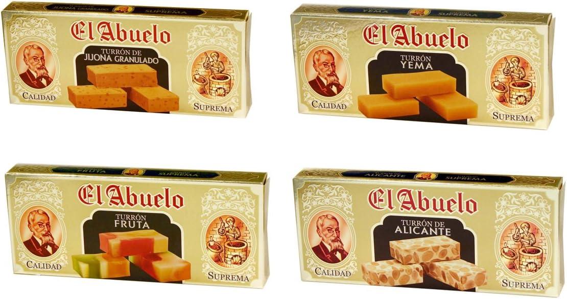 """Lote de Turrones artesanos """"Cuatro Especialidades"""", El Abuelo. 1,2 ..."""