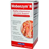 Wobenzym N - 800 Count Tablets