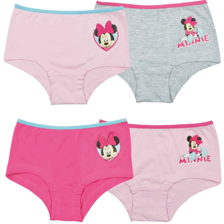 Minnie Mouse, Mädchen Panty, 4er Pack Mädchen Panty