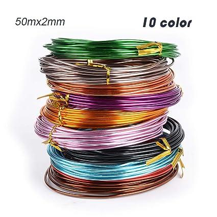 Filo Metallico Modellabile Placcato Argentato 0,6 mm 10 mt Wire Nickel free
