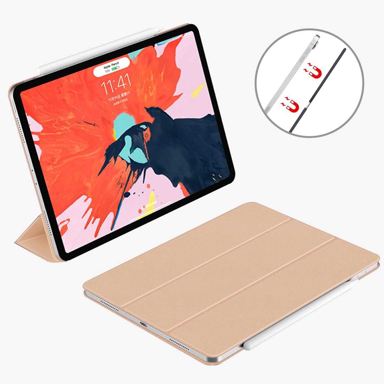R/éveil//Sommeil Automatique Vert Fonc/é /Étui iPad Air 4/ème Flexible Smart Cover Case Housse Arri/ère TPU Souple VAGHVEO Coque pour iPad Air 10.9 2020 /& iPad Pro 11 Pouces 2018 avec Pencil Holder