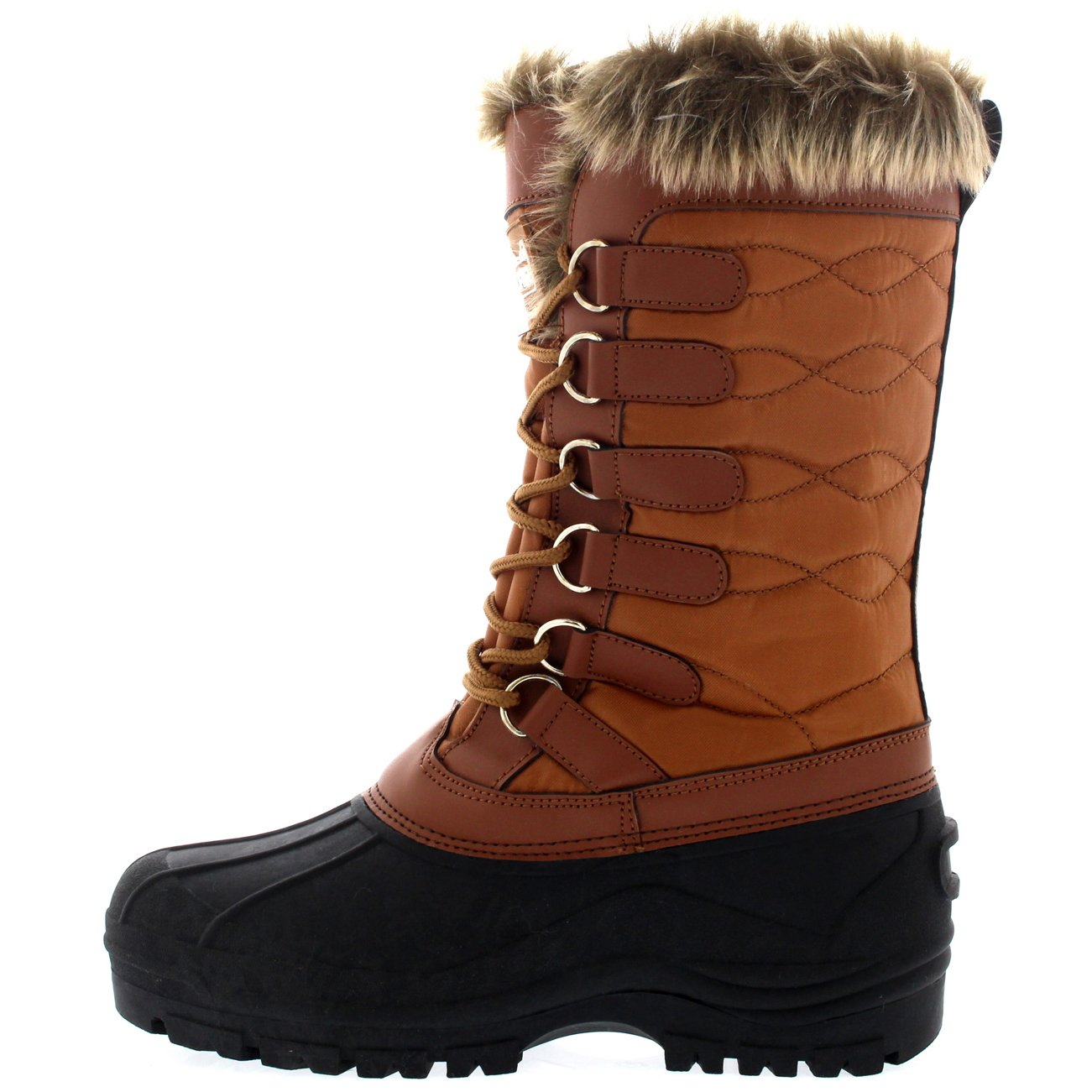 botas hombre groomer ft 13 brown snow