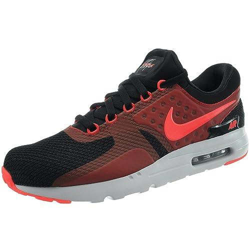size 40 d2242 e84ce ... sale nike 876070 007 men air max zero essential black bright crimson  gym red df25e 4f370