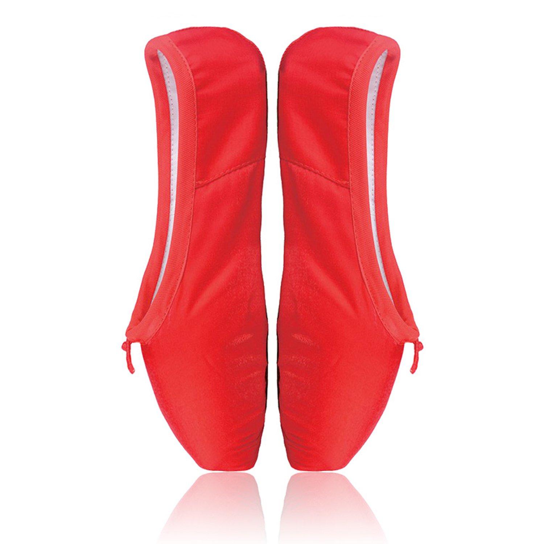 驚きの値段 [Smartodoors] ガールズ B01587EFBY Shoes US 6 Inside Inside Length:235mm,9.25Inch|Red ガールズ Pointe Shoes Red Pointe Shoes US 6 Inside Length:235mm,9.25Inch, レックダイレクト ホームストア:a7829994 --- pathlab.officeporto.com