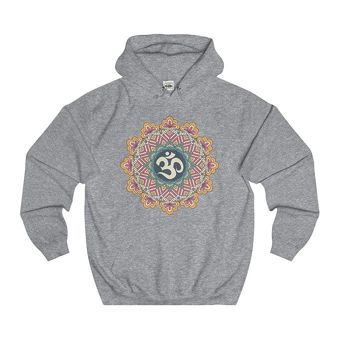 Amazon.com: Davatka Sri Om Mandala Sudadera con capucha para ...
