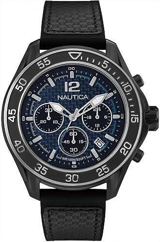 NAUTICA- NMX 1600 CARBON FIBER relojes hombre NAD25506G: Amazon.es: Relojes